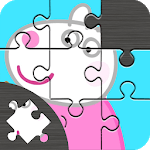 Puzzle Pepa Jigsaw Pig game icon