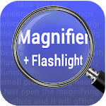 Magnifying Glass Flashlight Free icon