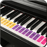 Real Piano Learning Keyboard 2019 APK icon