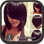 Bob Black Hairstyle icon