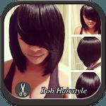 Bob Black Hairstyle icon