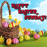 Happy Easter Sunday icon
