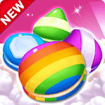 Cookie & Macaron Pop : Sweet Match3 Puzzle for pc icon
