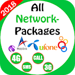 All Network Packages Pakistan 2018: APK icon