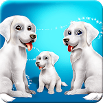 Labrador Puppies Family icon