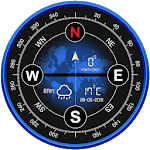 Digital Compass 360 free for android icon