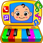 Baby Games - Piano, Baby Phone, First Words icon