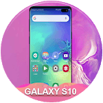Themes for samsung S10: S10 launcher and wallpaper icon