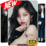 Jennie Kim Blackpink Wallpaper KPOP Fans HD icon