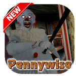 Pennywise! Evil Clown ink machine icon