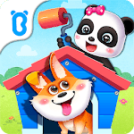 Baby Panda' s House Cleaning icon