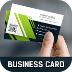 Business Card Maker Free Visiting Card Maker photo icon