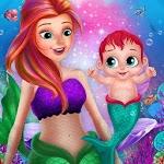 Little Mermaid Baby Care Ocean World icon