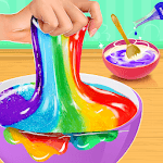 Rainbow Slime Maker Chef icon