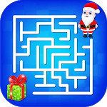 Kids Maze : Educational Puzzle Christmas Fun APK icon