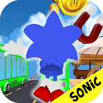 sonic subway : jump rush run in adventure jungle icon