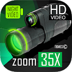 Low Light Vision Video Camera 35x zoom icon