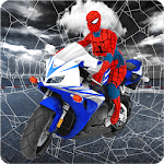 Spider Girl Stunt Rider  Super hero Highway Rider icon
