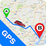 GPS Navigation: Live Map Alarm & Find Car Parking icon