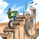 Stunt Bike Racing Game Trial Tricks Master icon