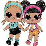 Lol Dolls Stickers (WAStickersApps) icon