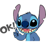 Stitch Sticker pack and lilo for whatsapp icon