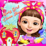 Sweet Baby Girl Clean House icon