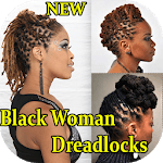 Black Woman Dreadlocks Hairstyle for pc icon