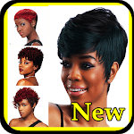 Black Women Short Haircut for pc icon