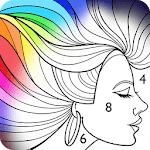 Paint by Number: Free Coloring Book icon