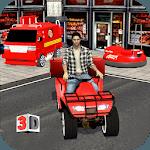 Multi Pizza Delivery Car:ATV Bike,Van & Bumper Car icon