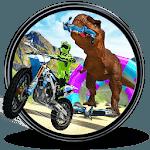 Bike Racing Dinosaur Run Escape Adventure 3D icon