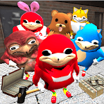 Ugandan Simulator. Knuckles Survival APK icon