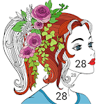 Paint by number - Coloring Book for pc icon