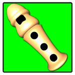 Flute Play Baby icon