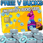 V bucks Land icon