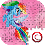 Little Pony Puzzle for kids APK icon