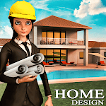 House Design & Makeover Ideas: Home Design Games icon
