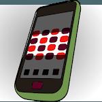Half Screen Power Saver icon