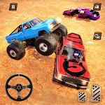 Monster Truck Car Crash Demolition Derby Games APK icon