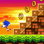 Sonic Advanced II : Snow Hedgehog icon