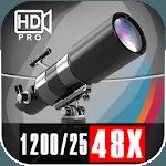 Ultra 48x Zoom Telescope 127EQ Camera APK icon