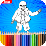 Undertale Coloring Pages Game icon