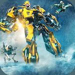 Underwater Submarine Multi Robot Fighting Games icon