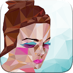 Poly Art Jigsaw Idle Painter Polygon by Number APK icon