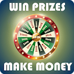 Spin the wheel to win real cash and prizes icon