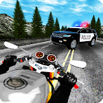 BIKERS vs COPS HD - 3D Racing Game icon
