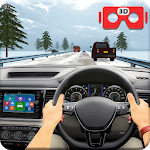VR Traffic Racing In Car Driving : Virtual Games icon