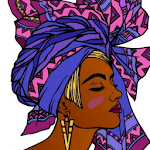 Black Culture Coloring Book icon