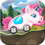 Unicorn Racing Cars Animals Vroom icon